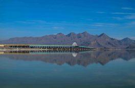 کاهش ۱۶ سانتیمتری تراز آب دریاچه ارومیه نسبت به زمان مشابه سال قبل