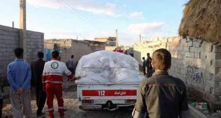 امدادرسانی هلال احمر به بیش از ۱۷ هزار سیل زده آذربایجان غربی