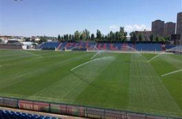چمن ورزشگاه تختی جم، آماده میزبانی از لیگ برتر