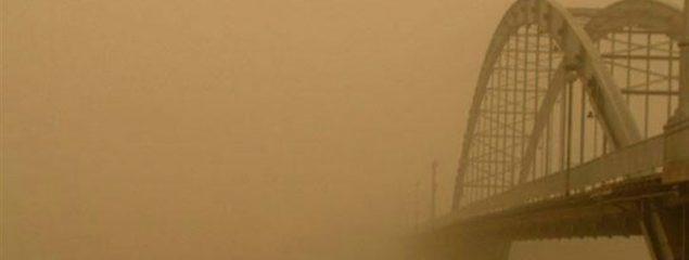 گرد و خاک استان خوزستان را فرا گرفت