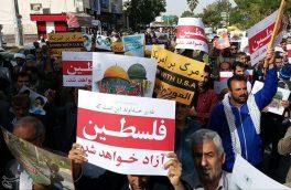 """جهان اسلام یکپارچه علیه صهیونیستها/ ملت ایران: """"رژیم صهیونیستی نفسهای آخر را میکشد""""+ تصاویر"""